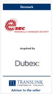 esec opkøbt af dubex - Schrøder Translink rådgav under salg af virksomhed
