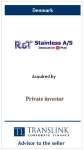 R&T - Schrøder Translink rådgav under salg af virksomhed
