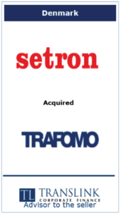 Setron køber trafomo -Schrøder Translink rådgav under salg af virksomhed