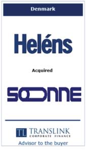 Helens køber Sonne - Schrøder Translink rådgav under køb af virksomhed