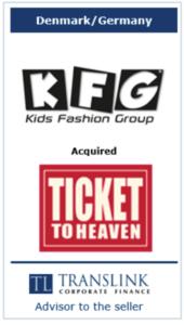 KFG køber ticket to heaven - Schrøder Translink rådgav under salg af virksomhed