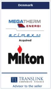 Megatherm køber milton -Schrøder Translink rådgav under salg af virksomhed