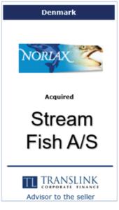 Norlax Schrøder Translink rådgav under salg af virksomhed