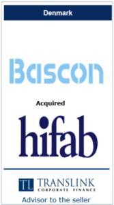 bascon køber hifab - Schrøder Translink rådgav under salg af virksomhed