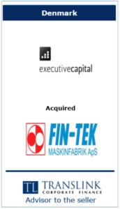 exe - Schrøder Translink rådgav under salg af virksomhed