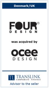 Four design - Schrøder Translink rådgav under salg af virksomhed