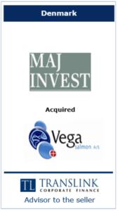 Maj invest - - Schrøder Translink rådgav under salg af virksomhed