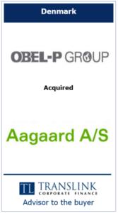 Obel-p - Schrøder Translink rådgav under køb af virksomhed