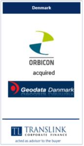 Orbicon køber geodata - Schrøder Translink rådgav under køb af virksomhed