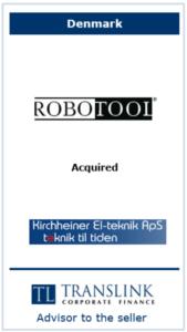 Robotool - Schrøder Translink rådgav under salg af virksomhed