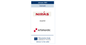 niras købte AlfaNordic